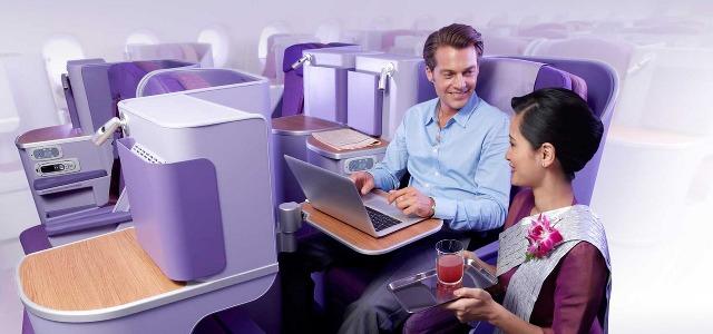 Vé máy bay đi Thụy Điển của Thai Airways