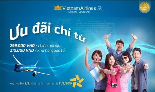 3 ngày vàng ngập tràn khuyến mãi cùng Vietnam Airlines