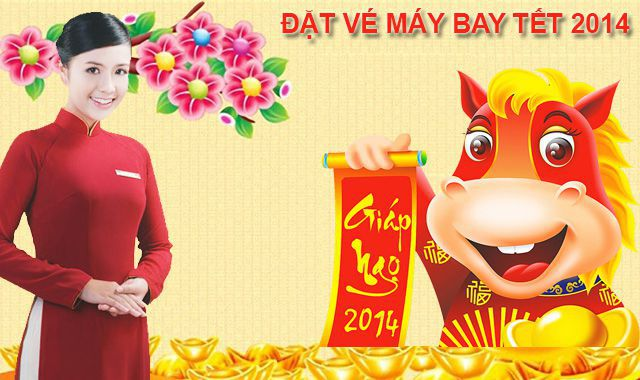 Ve may bay tet 2014