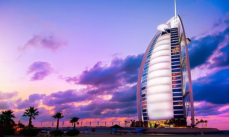 Khách sạn 7 sao burj al-arab