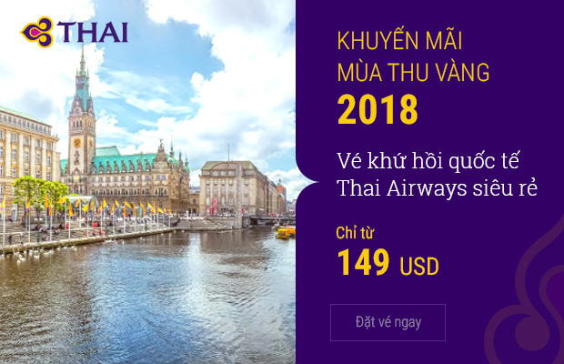 Vi vu khắp thế giới cùng Thai Airways
