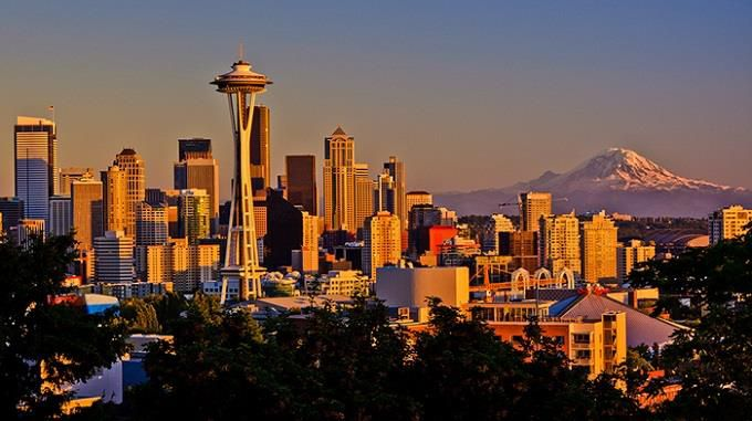 ve may bay di Seattle