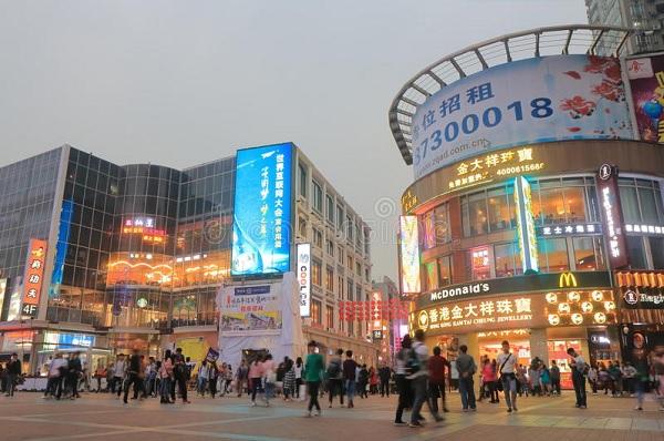 Thành phố du lịch và mua sắm