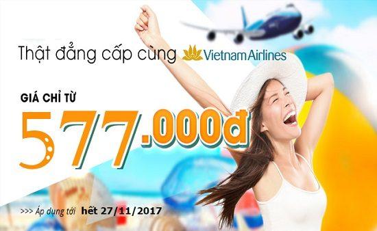 Vietnam Airlines tung vé giá rẻ hành trình nội địa các tháng cuối năm