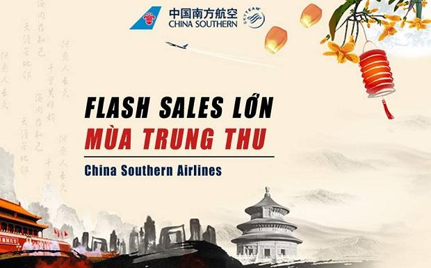 Cùng China Southern Airlines bay đến Trung Quốc với tấm vé khứ hồi chỉ từ 90 USD