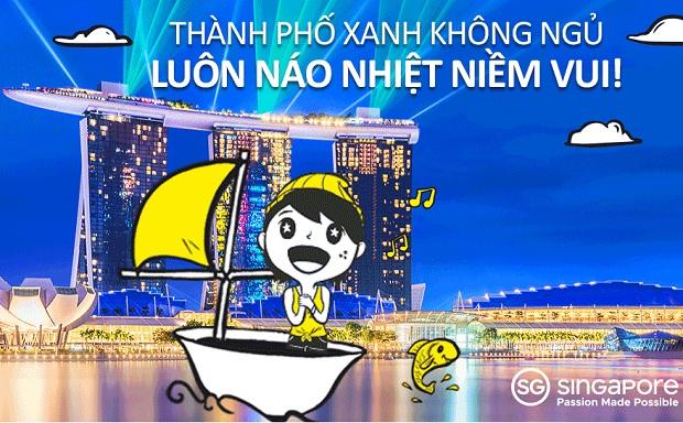 Scoot khuyến mãi vé du lịch Singapore chỉ từ 39 USD