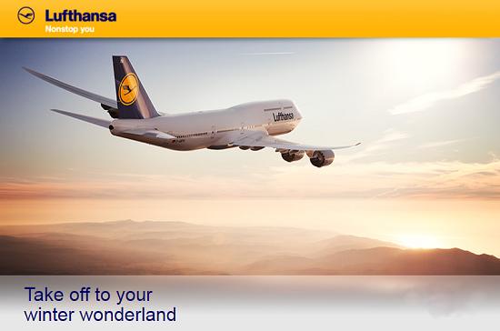 Mừng giáng sinh, tưng bừng khuyến mãi cùng Lufthansa